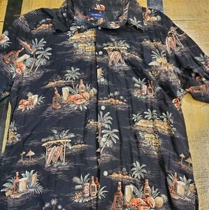 🤴👔🌴🥥🍺 Croft & Barrow Tropical Shirt